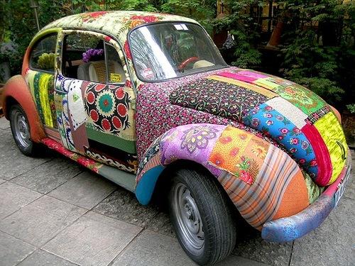 A car. Design by Hoda Baroudi & Maria Hibri