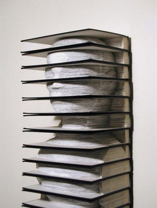 Design and Conceptual sculpture. book art by Brian Dettmer