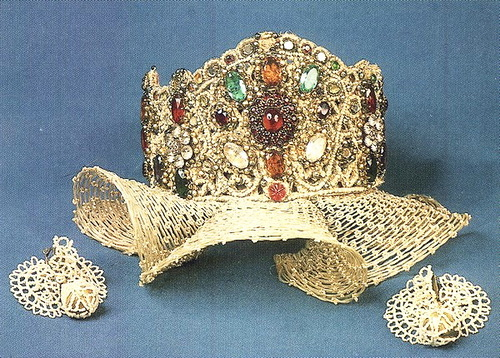 Traditional jewelry in ancient Russia