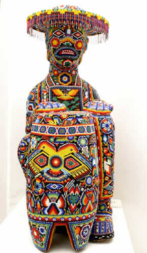 Traditional bead sculpture, Huichol art