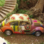 Creative approach to decorating cars