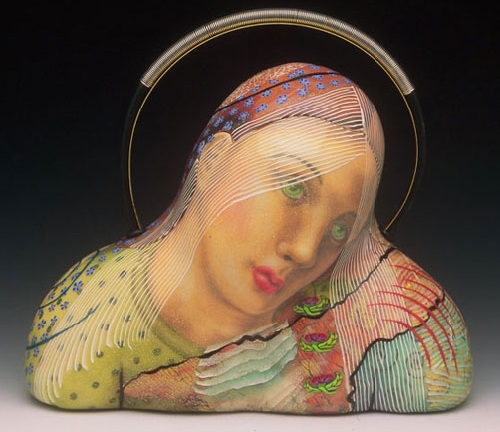 Extraordinary Evening Bags by American clay artist Kathleen Dustin