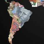 Currency World Maps. South America
