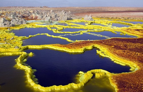 Danakil Depression by photographer Viktoria Rogotneva