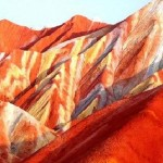 Beautiful mountains Danxia