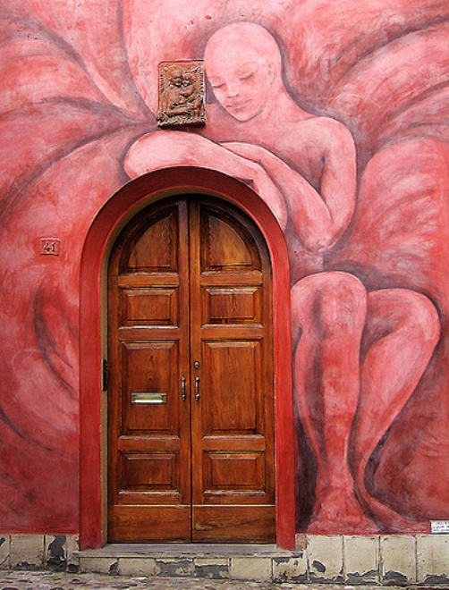 Door keeper (Bologna - Italy)