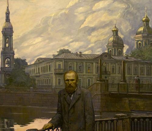 Dostoyevsky, Illustration for F. Dostoyevsky's short story 'White Nights'. 1970