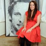 Nikki Douthwaite's dot portraits