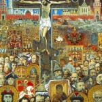Painting Eternal Russia, fragment