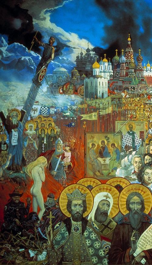 1988. Eternal Russia, fragment