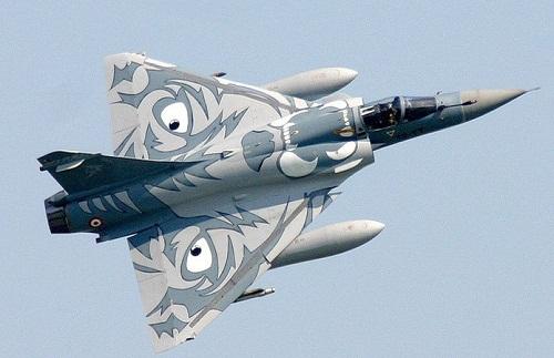 French mirage Aircraft graffiti