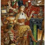 Magic. Fairy tale illustrations by British artist David Wyatt