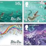 Stamps by British artist David Wyatt
