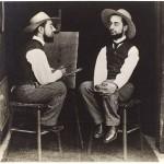 'Henri de Toulouse-Lautrec (French, Albi 1864–1901 Saint-Andre-Du-Bois) as artist and model' by Maurice Guibert (French, 1856–1913), 1892, Philadelphia museum of art, gift of Henry P. Mcllhenny, 1982-14-2