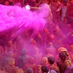 Beautiful tradition - Festival of colors in India