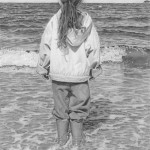At the seaside. Hyperrealistic pencil drawing by American self-taught artist Randy Hann