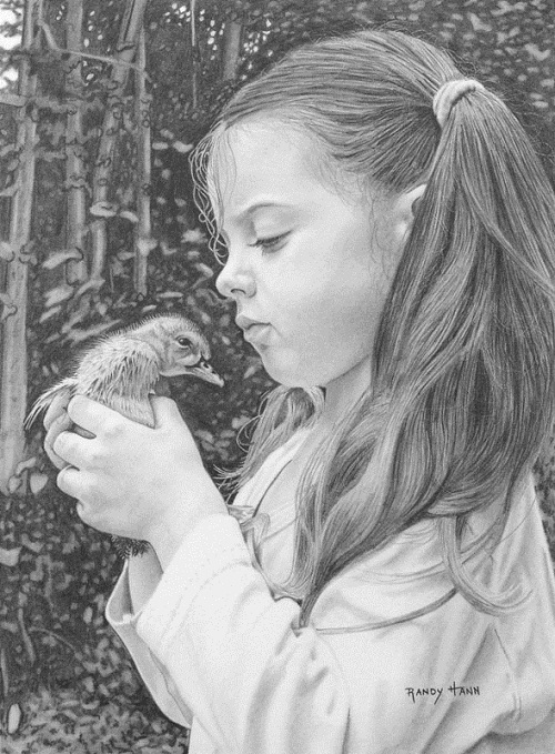 Hyperrealistic pencil drawings by Randy Hann