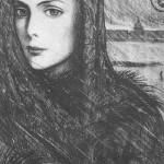 'White Nights'. 1970. Illustration for F. Dostoevsky short story