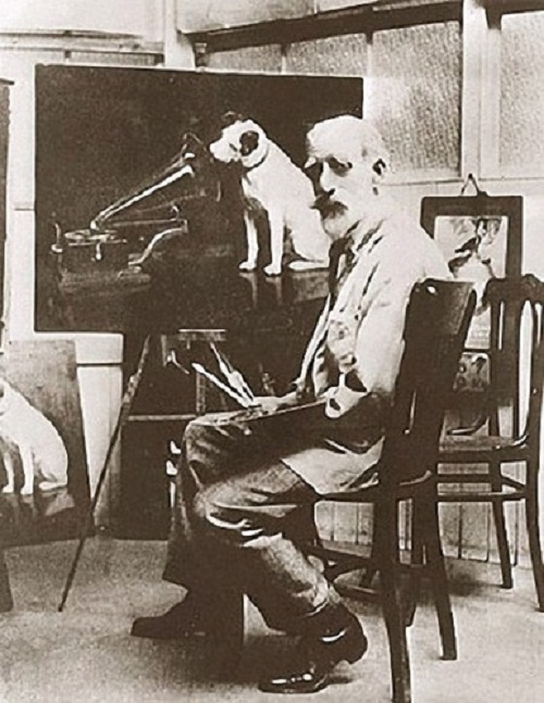 History of painting His Master's Voice