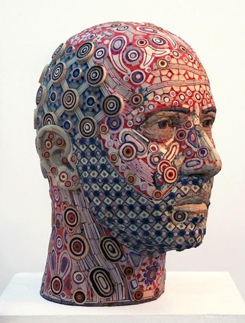 Inspired by people sculpture by American artist Michael Ferris Jr