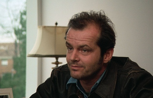 Jack Nicholson in 1975 film One Flew Over the Cuckoo's Nest
