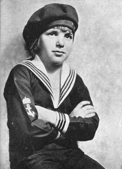 Young sailor John Leslie Coogan