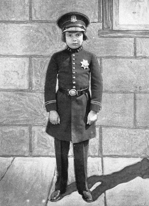 In a uniform, John Leslie Coogan