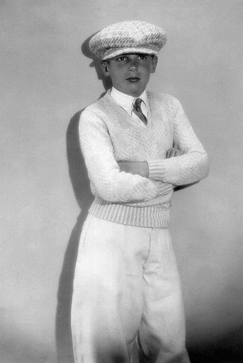 Teenager John Leslie Coogan 1928