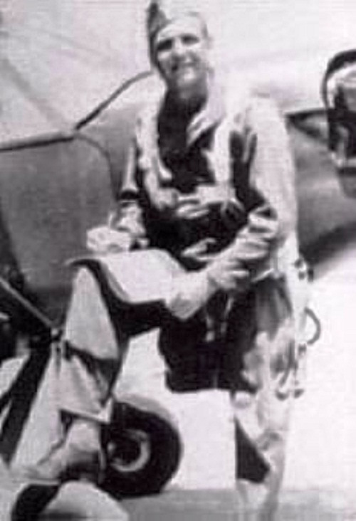 Pilot of US army, John Leslie Coogan during WWII