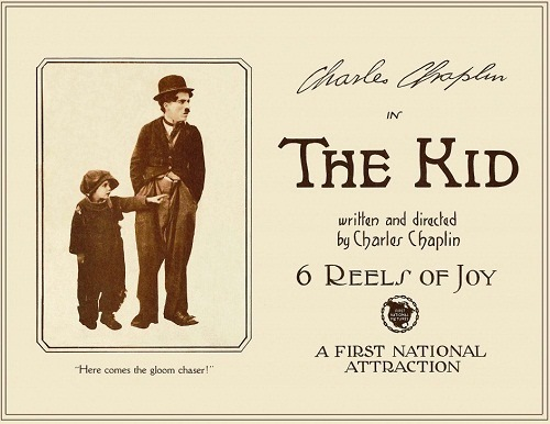 "Vintage poster ""The Kid"""
