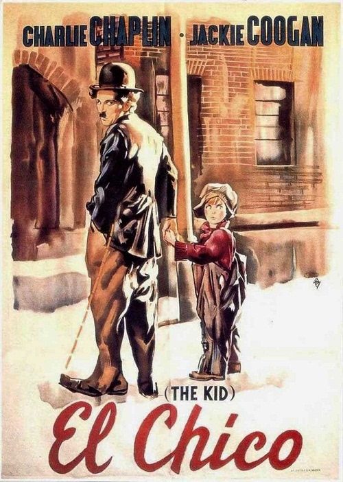 El Chico, the kid, poster
