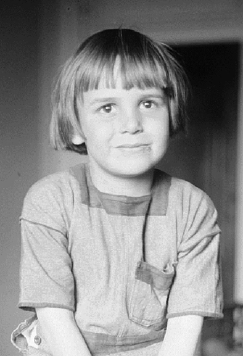 Child actor Jackie Coogan