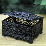 Jewelry boxes of Kasli casting metal art