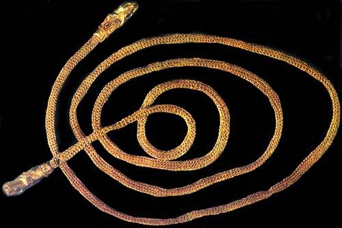 Traditional jewelry in ancient Russia. Kolodochka
