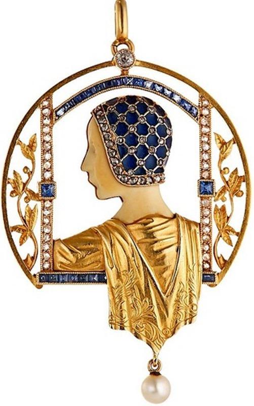 Art Deco Art Nouveau jewelry