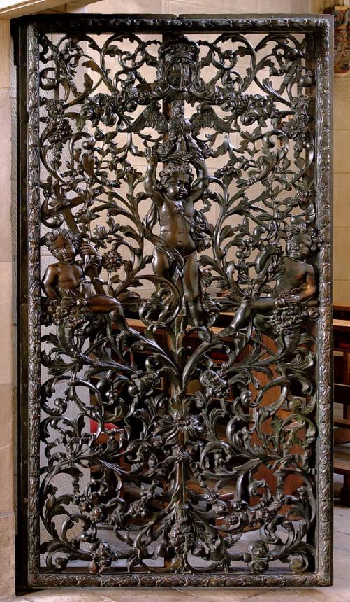 Münster, Paulusdom, Sakramentskapelle, bronze door