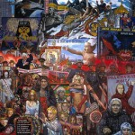 Glazunov. Market of our democracy. 1999