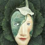Peggy Bjerkan's artful masks
