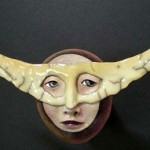 Weird Mask by Californian artist Peggy Bjerkan