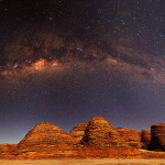 Milky Way Over the Bungle Bungles