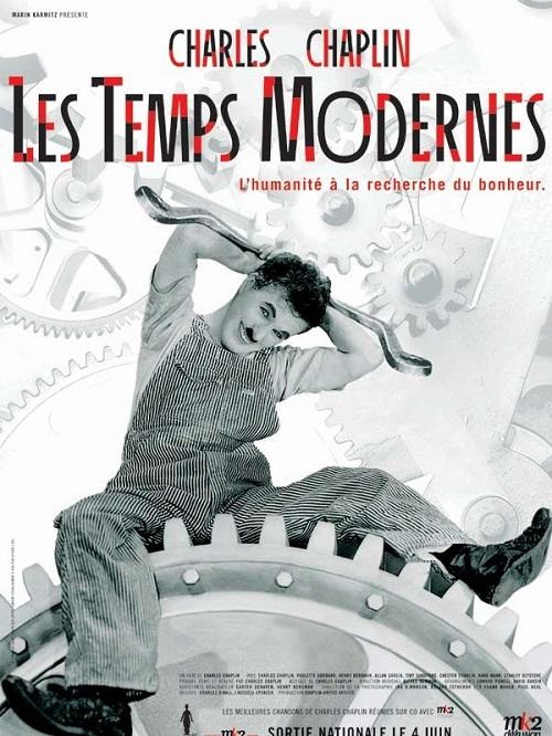 Modern Times by Charlie Chaplin