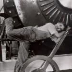 Scene from the film, Charlie Chaplin