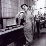 """Chaplin in """"Modern Times"""""""