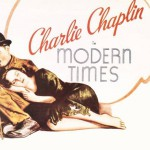Poster. Modern Times 1936 comedy film