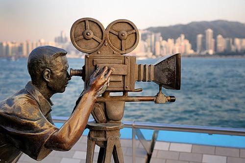 Cinematographer on 'Walk of Fame', Hong Kong