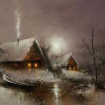 Moonlight sonata in Igor Medvedev's paintings