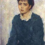 Nina. Portrait of the Artist's Wife. 1955. Property of the author