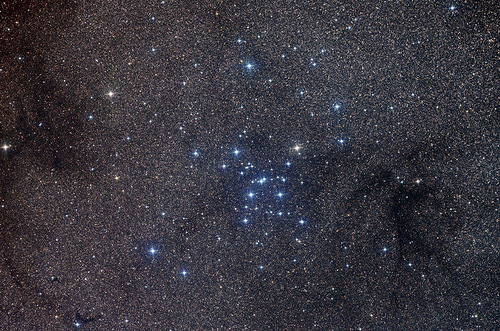 Astronomy Picture. Open Star Cluster in Scorpius is one of the most prominent open clusters of stars on the sky
