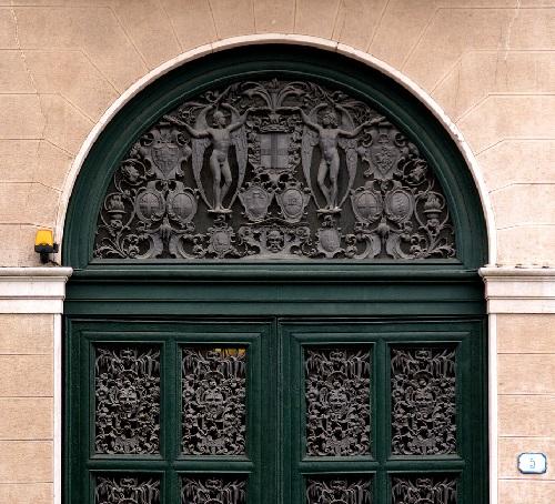 Padova, Veneto, house, detail