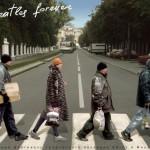 Beatles forever. Painting by creative Belarusian studio Tsesler&Voichenko